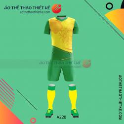 Mẫu áo bóng đá, áo đá banh thiết kế đẹp V219