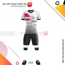 Mẫu áo bóng đá, áo đá banh thiết kế đẹp V224