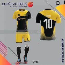 Mẫu áo bóng đá, áo đá banh thiết kế đẹp V242