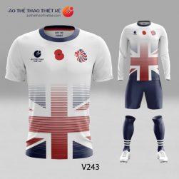 Mẫu áo bóng đá, áo đá banh thiết kế đẹp V243