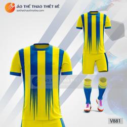 Mẫu áo bóng đá, áo đá banh thiết kế đẹp V881