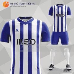 Mẫu áo bóng đá, áo đá banh thiết kế đẹp V885