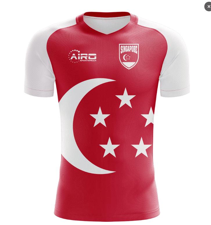 Mẫu áo bóng đá SEA Games 30 Singapore