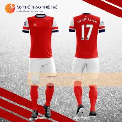 Mẫu áo bóng đá, áo đá banh thiết kế đẹp