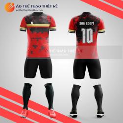 Mẫu Quần áo bóng đá không logo thiết kế V1205
