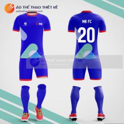 Mẫu áo bóng đá thiết kế MB Bank V1240