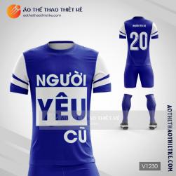 Mẫu áo bóng đá người yêu cũ V1315