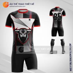 Mẫu áo bóng đá thiết kế con trâu tuổi sửu V1421