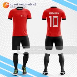 Mẫu quần áo đá bóng thiết kế Ngân hàng SEA BANK V1447