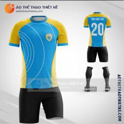 Mẫu áo bóng đá thiết kế V1473