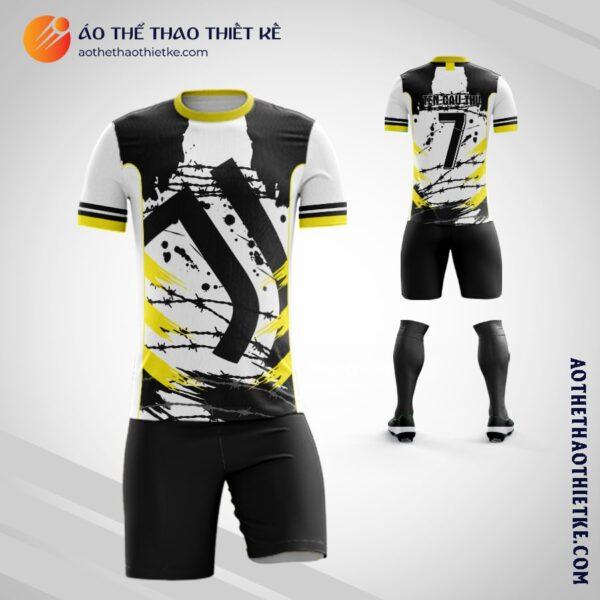 Mẫu áo đá banh Câu lạc bộ bóng đá Juventus tự thiết kế đẹp V2015