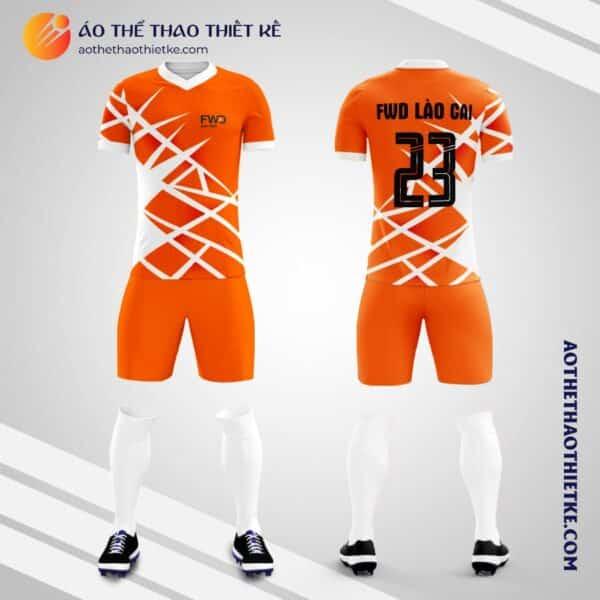 Mẫu áo bóng đá công ty Bảo hiểm FWD thiết kế V2146