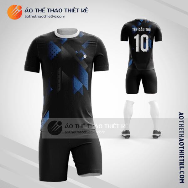 Mẫu in quần áo bóng đá Huyện Lập Thạch màu cam hot nhất V2645